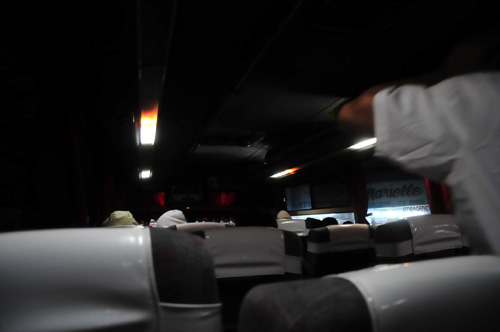 in bus from angheles to manila.jpg